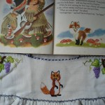 foxy embroidery and book