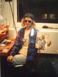 kurt cobain for a day